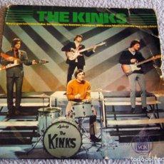 Discos de vinilo: THE KINKS - HASTA QUE TERMINE EL DIA + 3 - EP - AÑO 1965. Lote 216617118
