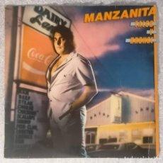 Discos de vinilo: DISCO VINILO LP TALCO Y BRONCE - MANZANITA -. Lote 216620251