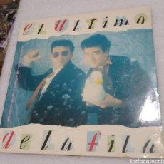 Discos de vinil: EL ULTIMO DE LA FILA - NUEVO PEQUEÑO CATÁLOGO DE SERES Y ESTARES. Lote 216627168