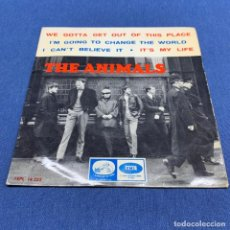 Disques de vinyle: EP THE ANIMALS - WE GOTTA GET OUT OF THIS PLACE - ESPAÑA - AÑO 1965. Lote 216650440