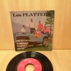 Dischi in vinile: THE PLATTERS. SMOKE GETS IN YOUR EYES, ONLY BECAUSE, ETC.. EP.. Lote 216655542