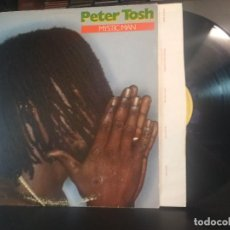 Disques de vinyle: PETER TOSH MYSTIC MAN LP USA 1979 PDELUXE. Lote 216664315