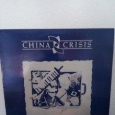 Discos de vinilo: LP CHINA CRISIS - FLAUNT THE IMPERFECTION, SPAIN 1985, INSERT, BUEN ESTADO. Lote 216683462