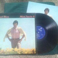 Discos de vinilo: MIGUEL RIOS LP MIRA HACIA TI 1969 + ENCARTE VG. Lote 216695307