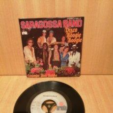 Discos de vinilo: SARAGOSSA BAND. DISCO BOOGIE BOOGIE. GOUMBE BOU BAKHE ( REAGGE DISCO). Lote 216709867