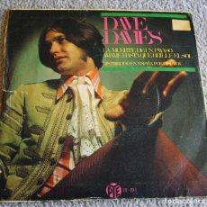 Discos de vinilo: DAVE DAVIES - LA MUERTE DE UN PAYASO + 1 - SINGLE - AÑO 1967. Lote 216723603