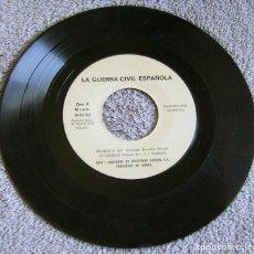 Discos de vinilo: LA GUERRA CIVIL ESPAÑOLA - FALANGISTA SOY + 3 - AÑO 1978 - PERFECTO ESTADO. Lote 216728580