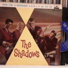 Discos de vinilo: SHADOWS - KON-TIKI. Lote 216745081