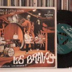 Discos de vinilo: BRAVOS - BRING A LITTLE LOVIN´. Lote 216748018