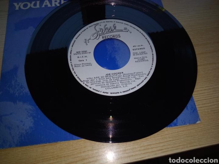 Discos de vinilo: Antiguo disco Joe cocker. You are so beautiful - Foto 2 - 216754088