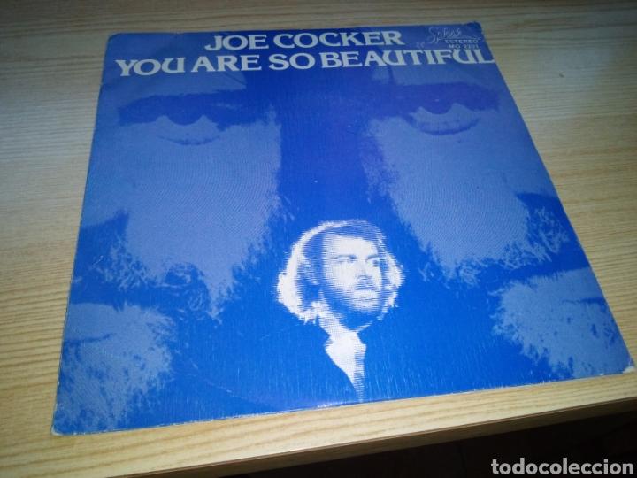 ANTIGUO DISCO JOE COCKER. YOU ARE SO BEAUTIFUL (Música - Discos de Vinilo - EPs - Pop - Rock - New Wave Internacional de los 80)