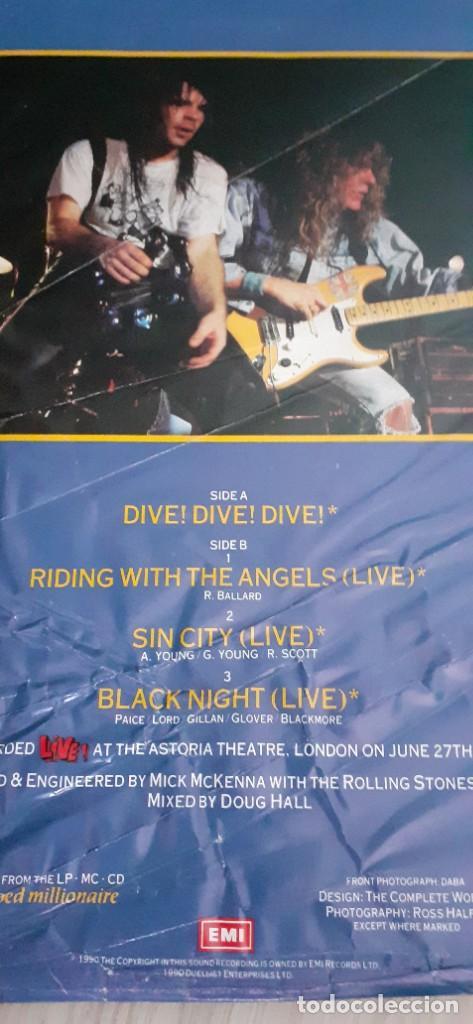 Discos de vinilo: BRUCE DICKINSON Dive!Dive!Live!! 4 temas ,versiones AC/DC,Deep purple,etc - Foto 5 - 196190380