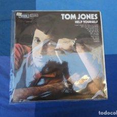 Discos de vinilo: EXPRO LP TOM JONES HELP YOURSELF ESPAÑA 69 LABEL DECCA ANTIGUO MUY BUEN ESTADO GENERAL. Lote 216755680