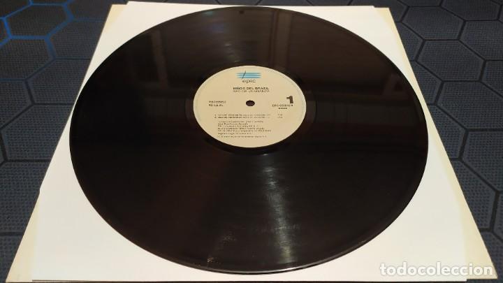 Discos de vinilo: NIÑOS DEL BRASIL - LOTE DE 3 MAXISINGLES Y 5 SINGLES PROMOCIONALES - 1989-1993 - HÉROES DEL SILENCIO - Foto 13 - 216757007
