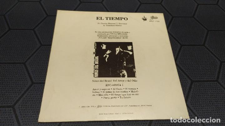 Discos de vinilo: NIÑOS DEL BRASIL - LOTE DE 3 MAXISINGLES Y 5 SINGLES PROMOCIONALES - 1989-1993 - HÉROES DEL SILENCIO - Foto 21 - 216757007