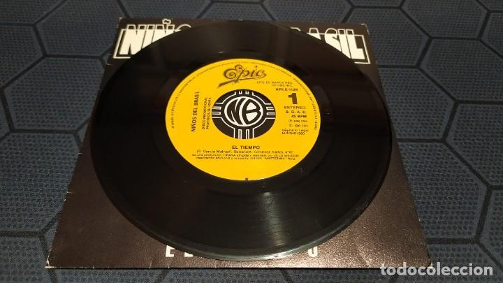 Discos de vinilo: NIÑOS DEL BRASIL - LOTE DE 3 MAXISINGLES Y 5 SINGLES PROMOCIONALES - 1989-1993 - HÉROES DEL SILENCIO - Foto 22 - 216757007