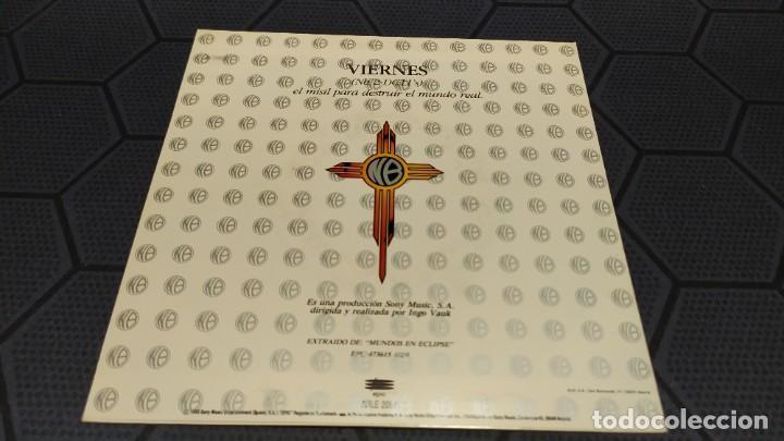 Discos de vinilo: NIÑOS DEL BRASIL - LOTE DE 3 MAXISINGLES Y 5 SINGLES PROMOCIONALES - 1989-1993 - HÉROES DEL SILENCIO - Foto 25 - 216757007