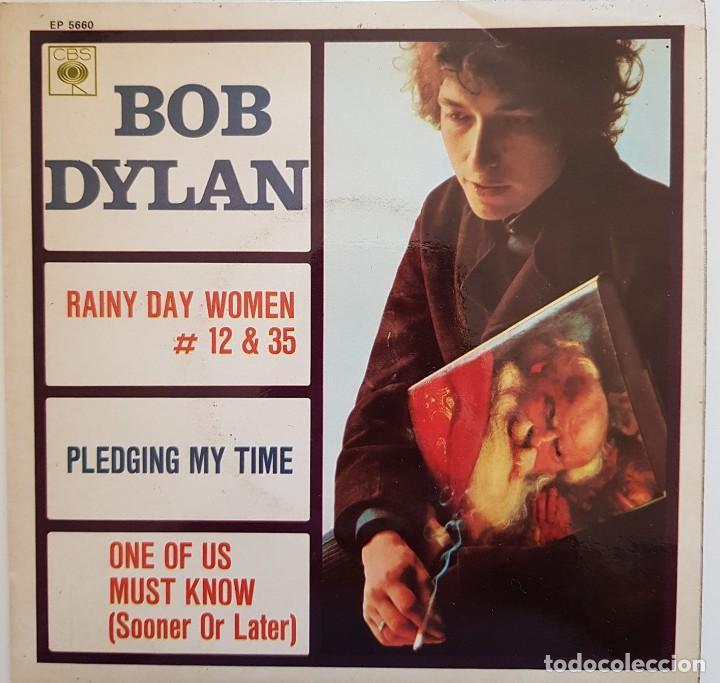 BOB DYLAN. RAINY DAY WOMEN (Música - Discos de Vinilo - EPs - Cantautores Internacionales)