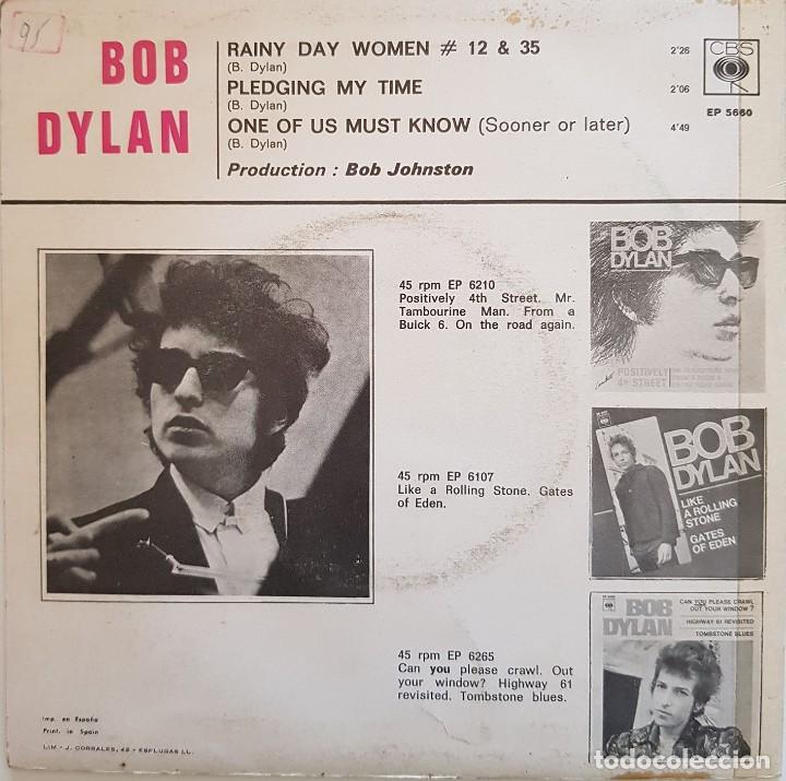 Discos de vinilo: Bob Dylan. Rainy Day Women - Foto 2 - 216760457
