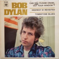 Discos de vinilo: BOB DYLAN. CAN YOU PLEASE CRAWL OUT YOUR WINDOW? 1966. Lote 216761023