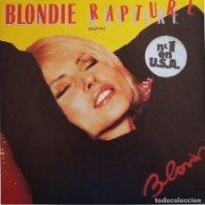 Discos de vinilo: BLONDIE. RAPTURE. 1981. Lote 216762223