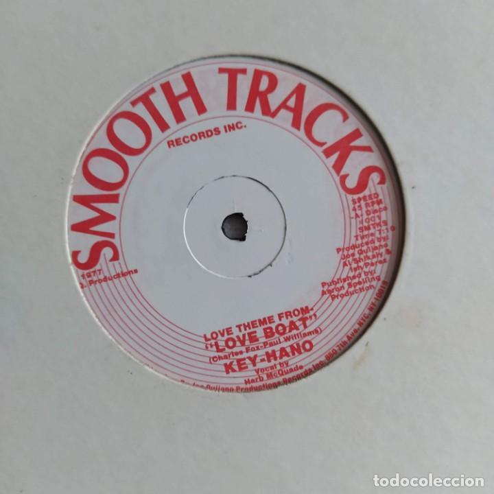 """KEY-HANO - LOVE THEME FROM LOVE BOAT (12"""") (SMOOTH TRACKS RECORDS INC.) (D:VG+) (Música - Discos de Vinilo - Maxi Singles - Bandas Sonoras y Actores)"""