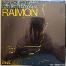 Discos de vinilo: RAIMON (VI). INICI DE CÀNTIC. 1966. Lote 216762945