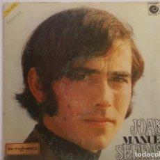 Disques de vinyle: JOAN MANUEL SERRAT-ORIGINAL AÑO 1969-PORTADA ABIERTA. Lote 216764982