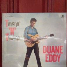 Discos de vinilo: DUANE EDDY–TWISTIN' 'N' TWANGIN' . LP VINILO PRECINTADO.. Lote 216787603