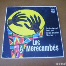 Discos de vinilo: EP : LOS MERECUMBES / ED SPAIN 1961 - EX. Lote 216788418
