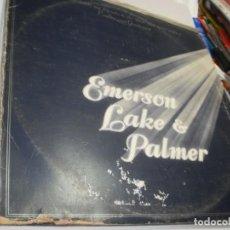 Discos de vinilo: LP TRIPLE. EMERSON LAKE & PALMER. WELLCOME BACK. MANTICORE 1974 SPAIN (PROBADOS, BIEN, BUEN ESTADO). Lote 216793356