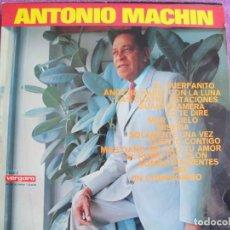 Disques de vinyle: LP - ANTONIO MACHIN - MISMO TITULO (SPAIN, DISCOS VERGARA 1967). Lote 216796966