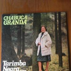 Discos de vinilo: CHABUCA GRANDA-TARIMBA NEGRA-1979-NUEVO!!. Lote 216808017