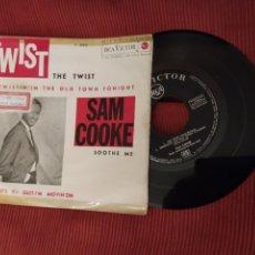 Discos de vinilo: SAM COOKE EP THE TWIST RCA SPA 1962 RARO EP SPA VER FOTO CANCIONES. Lote 216809826
