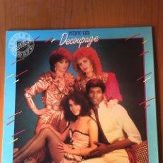 Discos de vinilo: DECOUPAGE-PUERTO RICO-1982-NUEVO!!. Lote 216811970