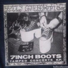 """Discos de vinilo: 7 INCH BOOTS TAMPED CONCRETE E.P. SINGLE 7"""". Lote 216812942"""