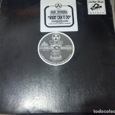 Discos de vinilo: MAXI / THE MIGHTY BLAZE FEATURING ALEXANDER HOPE - WHAT CAN U DO, 157 SHELTER RECORDS SHL 1016, USA. Lote 216817187