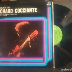 Discos de vinilo: RICHARD COCCIANTE (LP) LO MEJOR AÑO 1978 RCA PEPETO. Lote 216826182
