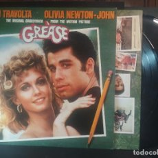 Dischi in vinile: JOHN TRAVOLTA . OLIVIA NEWTON - JOHN ORIGINAL SOUNDTRACK 2 LPS GREASE MADE IN SPAIN 1978 PEPETO. Lote 216828307