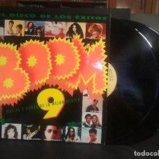 Discos de vinilo: BOOM 9-30 EXITOS-HEROES DEL SILENCIO, FREDDIE MERCURY, PAUL MACCARTNEY, DOBLE LP PEPETO. Lote 216828577