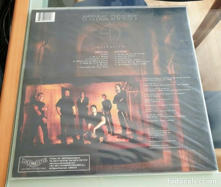 Discos de vinilo: ASTRAL DOORS-ASTRALISM LP VINYL -DIO- DORO - Foto 2 - 216839607
