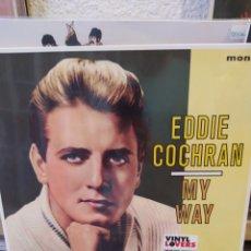 Discos de vinilo: EDDIE COCHRAN - MY WAY. LP VINILO PRECINTADO. ROCKABILLY. Lote 216844368