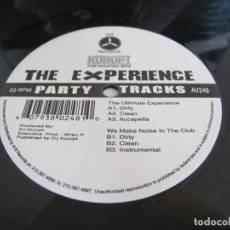 "Discos de vinil: DJ KURUPT / THE ULTIMATE EXPERIENCE / WE MAKE NOISE IN THE CLUB / RAP HIP HOP / 12"" VINILO / US/ VG+. Lote 216847967"