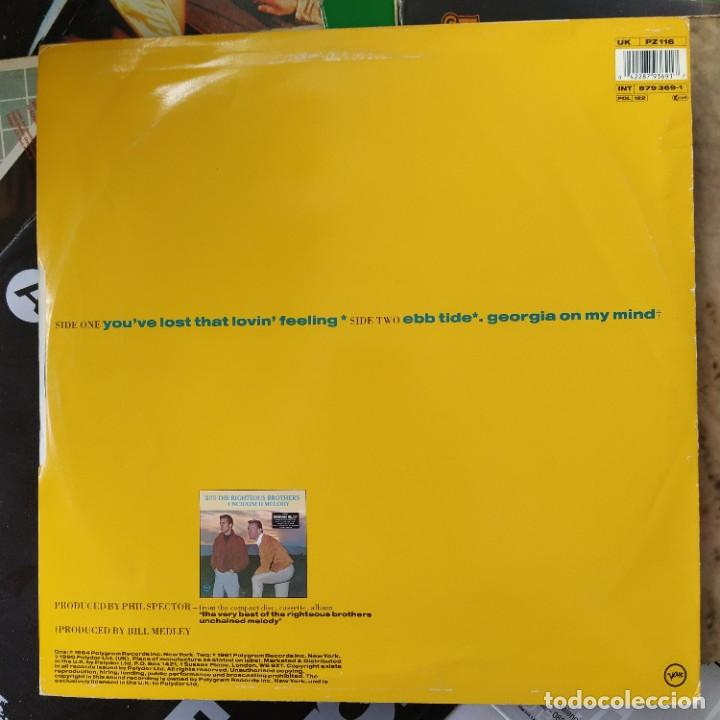 """Discos de vinilo: The Righteous Brothers - Youve Lost That Lovin Feeling (12"""", Single) (Polydor, Verve) (D:VG+) - Foto 2 - 216856516"""