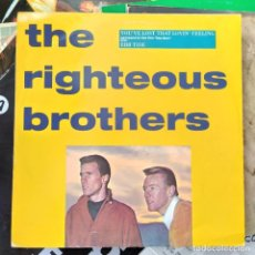 "Discos de vinilo: THE RIGHTEOUS BROTHERS - YOU'VE LOST THAT LOVIN' FEELING (12"", SINGLE) (POLYDOR, VERVE) (D:VG+). Lote 216856516"