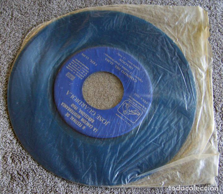 Discos de vinilo: JOSE GUARDIOLA - 2º FESTIVAL DE LA CANCIÓN MEDITERRÁNEA 1960 - EP - Foto 2 - 216858557