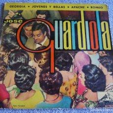 Discos de vinilo: JOSE GUARDIOLA - EP - GEORGIA + 3 - AÑO 1962. Lote 216861385