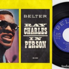 Discos de vinilo: RAY CHARLES IN PERSON - WHAT I'D SAY - EP DE VINILO EDICION ESPAÑOLA. Lote 216861558
