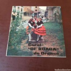 Discos de vinilo: CORAL DE RUADA ORENSE - VELLO NADAL - PANDEIRADA DE PALMES - TRULLADA DE CAMBADOS .... Lote 216863236