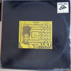Discos de vinilo: MAXI / LENNY FONTANA PRESENTS CAROLE SYLVAN - EVERYTHING YOU DO, KULT RECORDS KULO 987, USA 1996. Lote 216863837